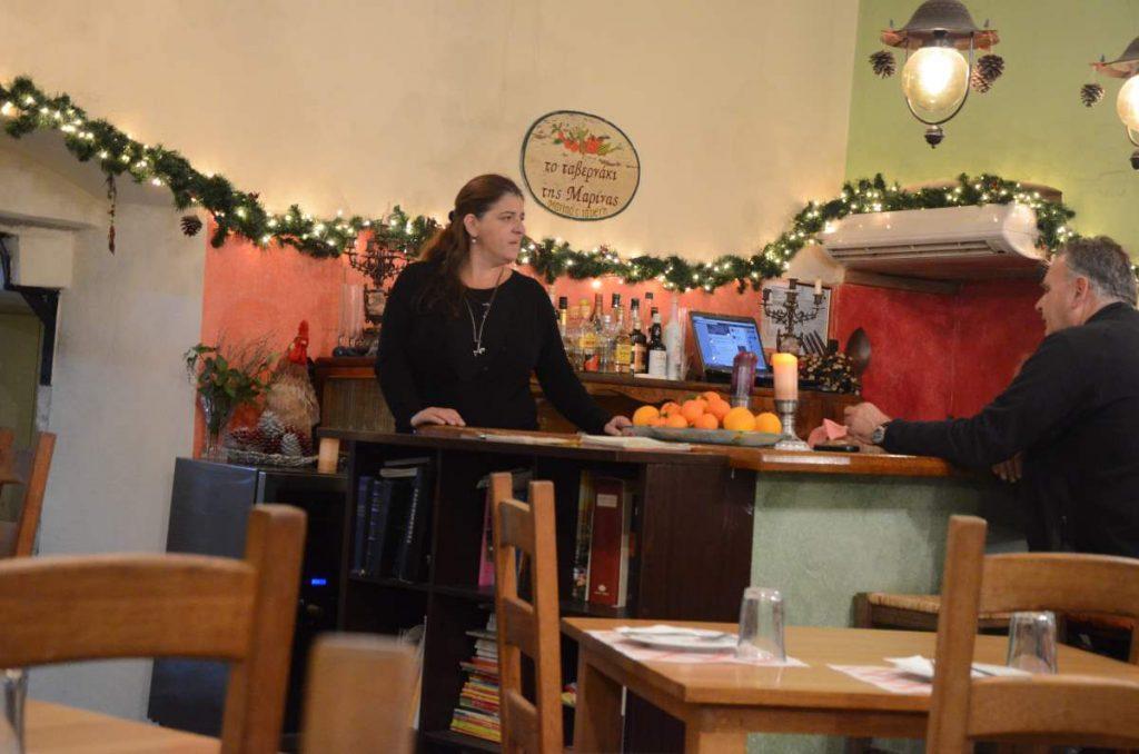 Το ταβερνάκι της Μαρίνας στην Κέρκυρα
