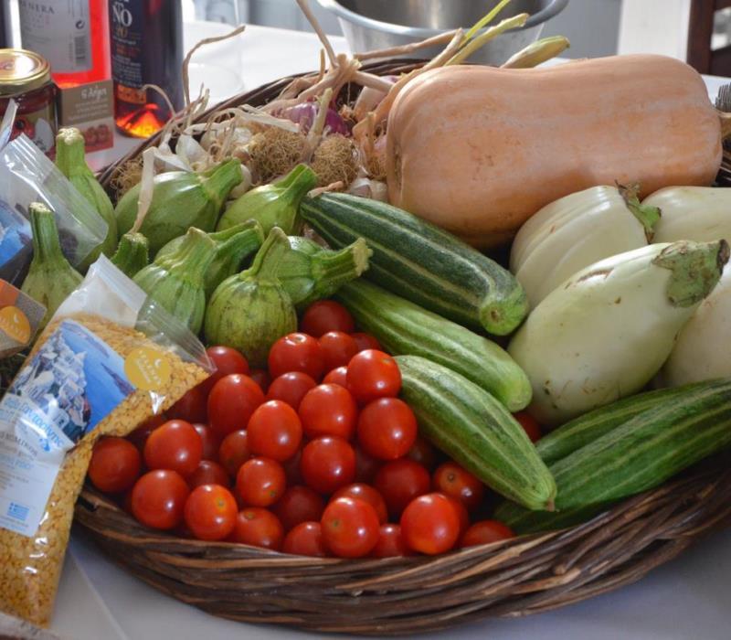 Σαντορίνη: Κουζίνα