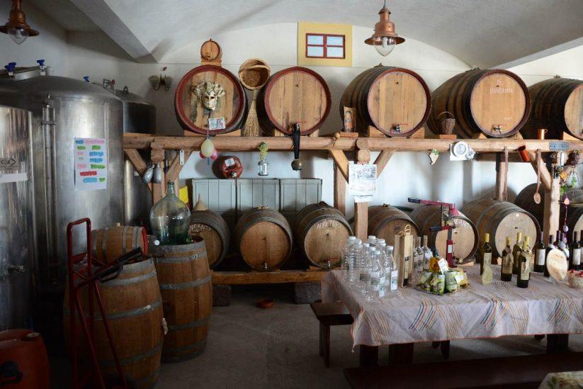 Οινοποιείο Αντώνη Αρβανίτη - Σαντορίνη