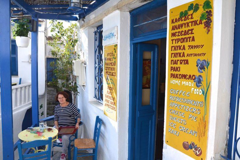 Το καφενείο της Δήμητρας - Καρδιανή, Τήνος - Greek Gastronomy Guide