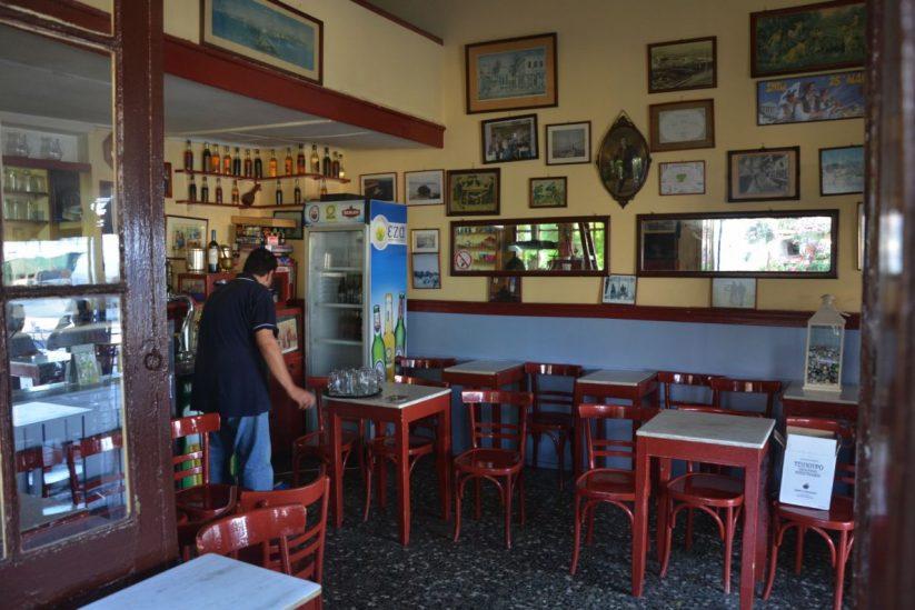 Το καφενείο της Αναστασίας Γαλάρη στην Αίγινα
