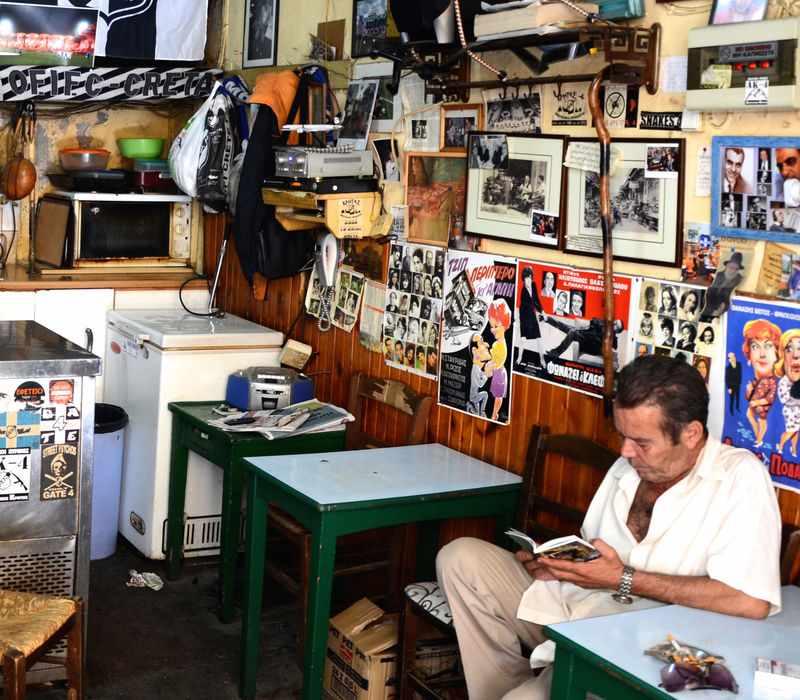 Κρήτη: Καφενεία