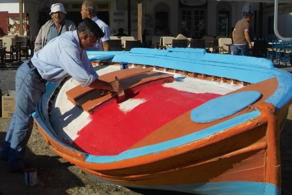 Συντήρηση βάρκας
