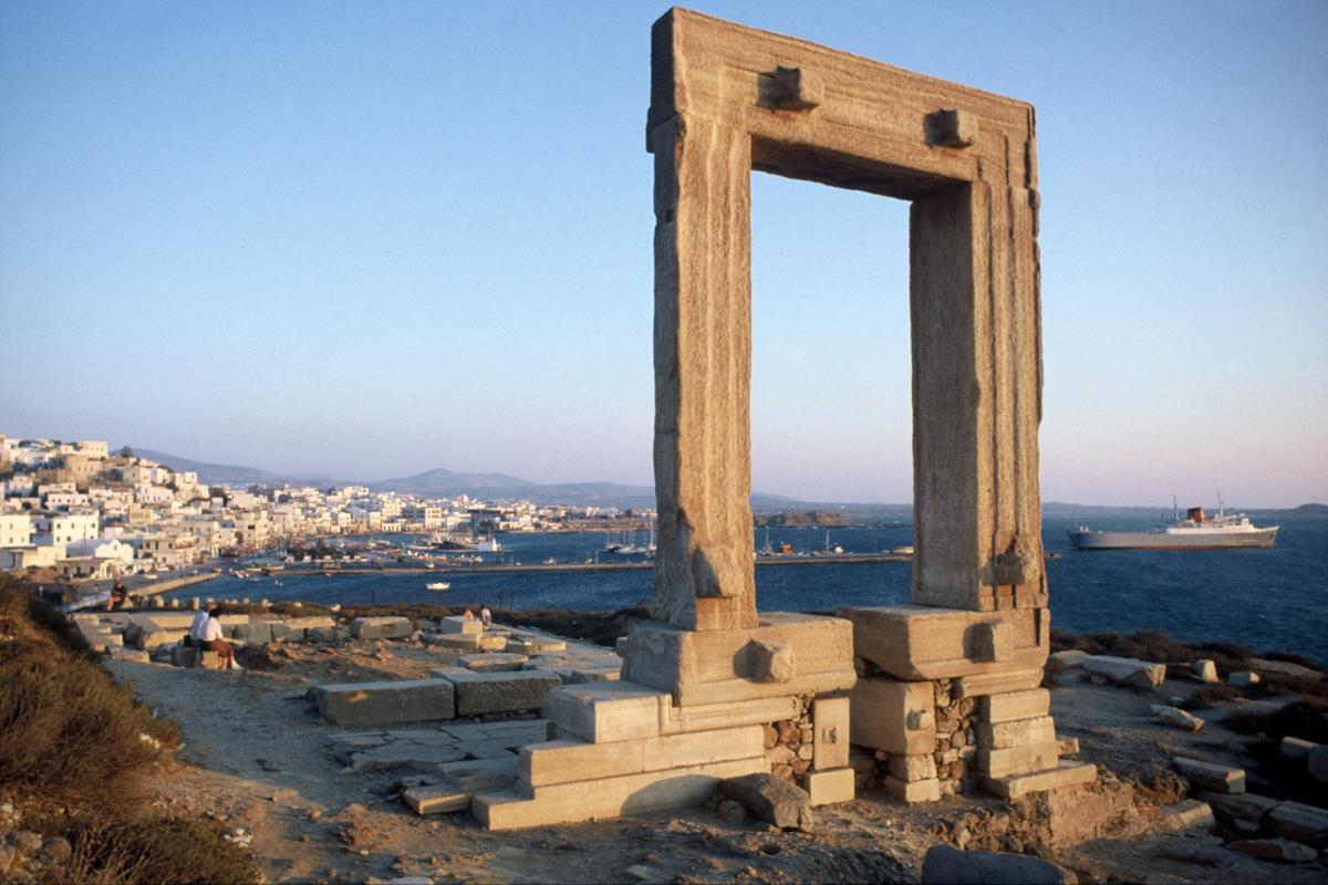 Ναός του Απόλλωνα ή Πορτάρα, Νάξος