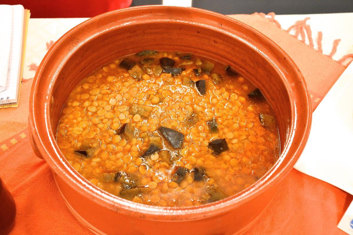 Ρεβίθια μελιτζάνες - Παραδοσιακή Κουζίνα Πάτμου - Greek Gastronomy Guide