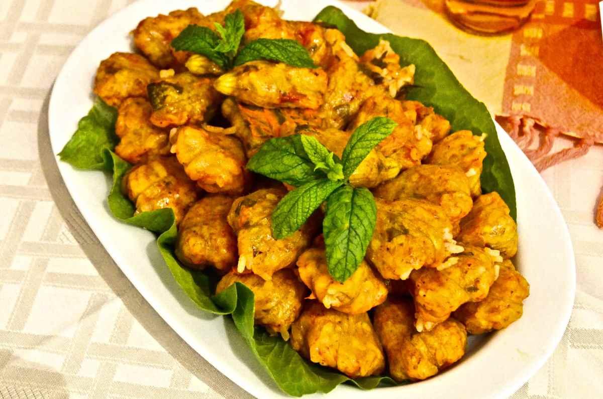 Φούντες γεμιστές - Παραδοσιακή Κουζίνα Πάτμου - Greek Gastronomy Guide