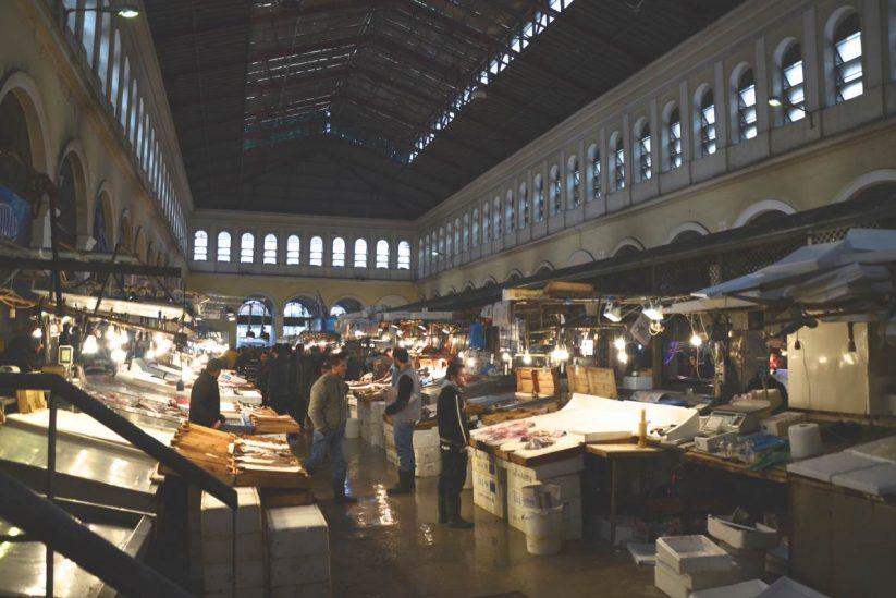 Βαρβάκειος Αγορά, Αθήνα