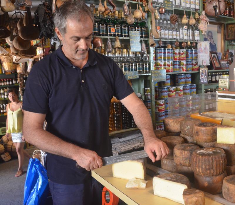 Νάξος: Αγορές