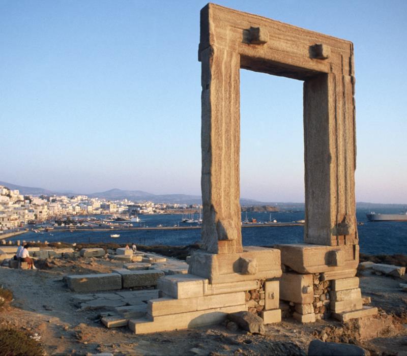 Νάξος: Τόπος - Ιστορία
