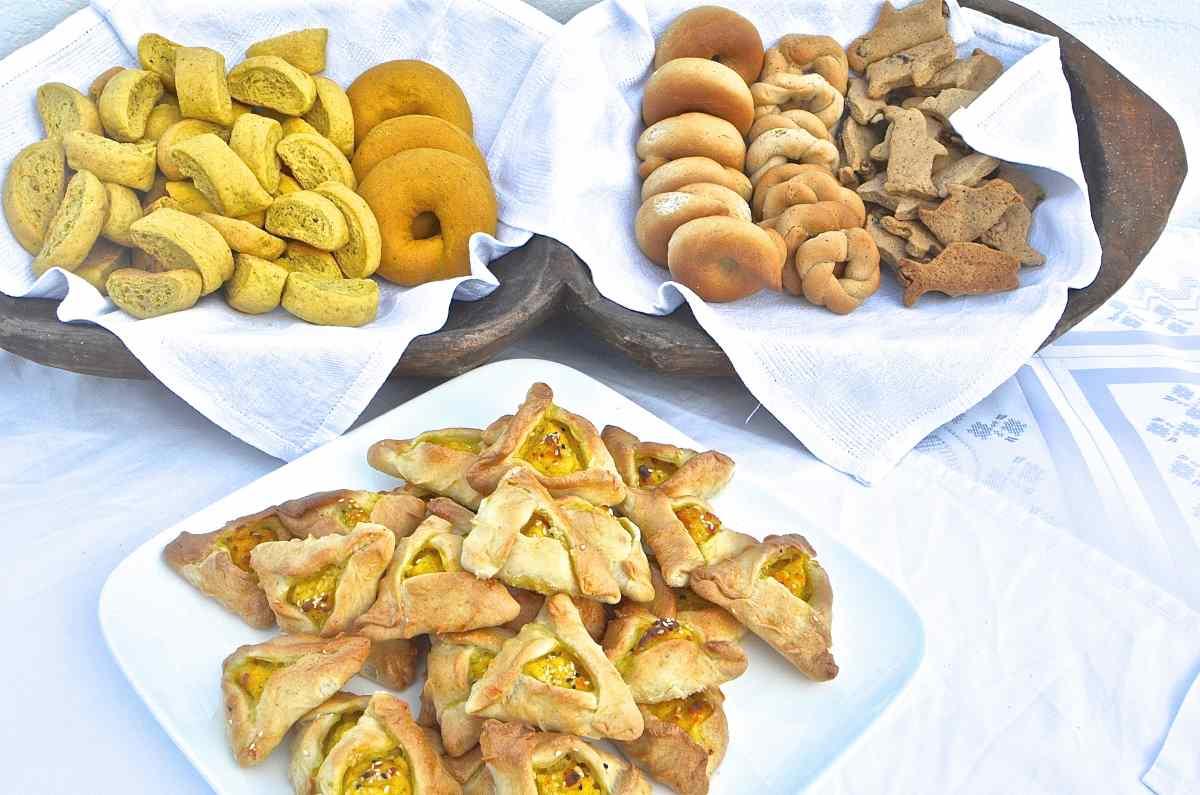 Κιτρινοκούλουρα - Παραδοσιακή κουζίνα Αστυπάλαιας