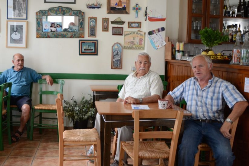 Kαφενείο του Γαβαλά - Νάουσα, Πάρος - Greek Gastronomy Guide