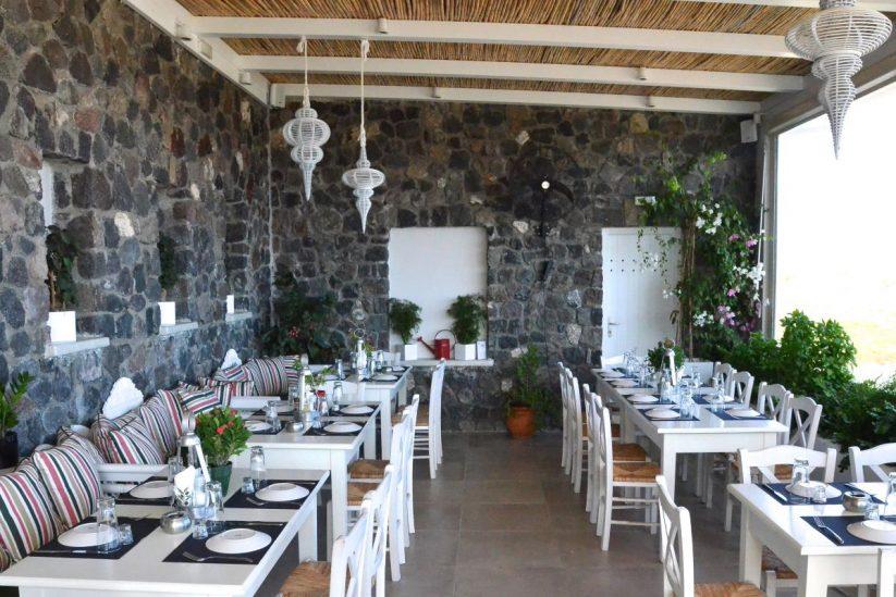 Εστιατόριο Άρωμα Αυλής - Σαντορίνη