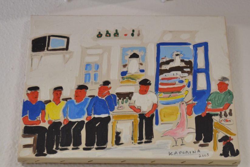 Καφενείο του Μπακόγια - Γιαλός, Μύκονος