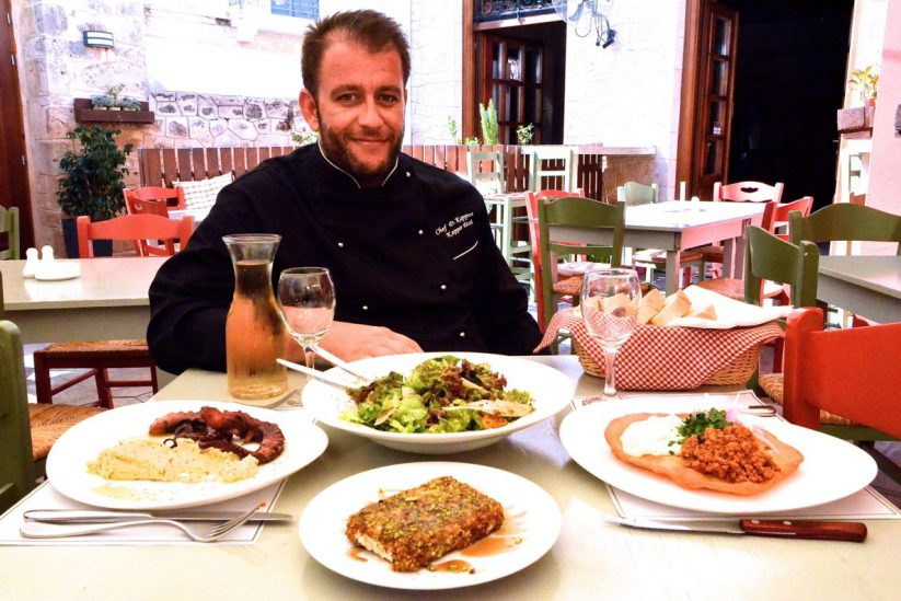 Εστιατόριο Κάππος Έτσι - Αίγινα - Greek Gastronomy Guide