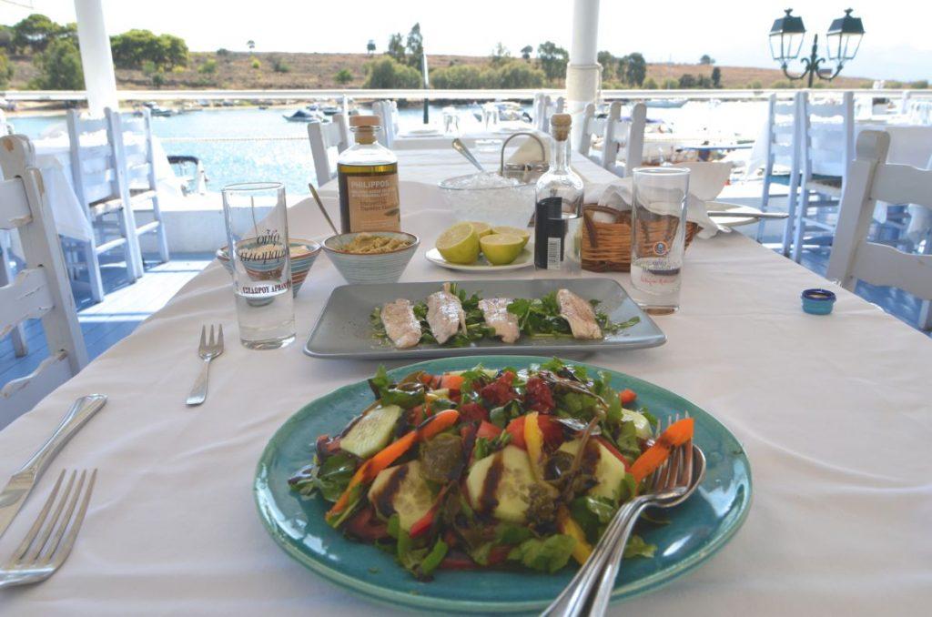 Ψαροταβέρνα Νώντας - Πέρδικα, Αίγινα - Greek Gastronomy Guide