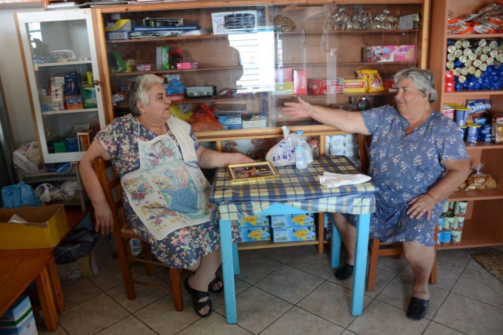 Καφενείο Κύμα στη Δονούσα - Greek Gastronomy Guide