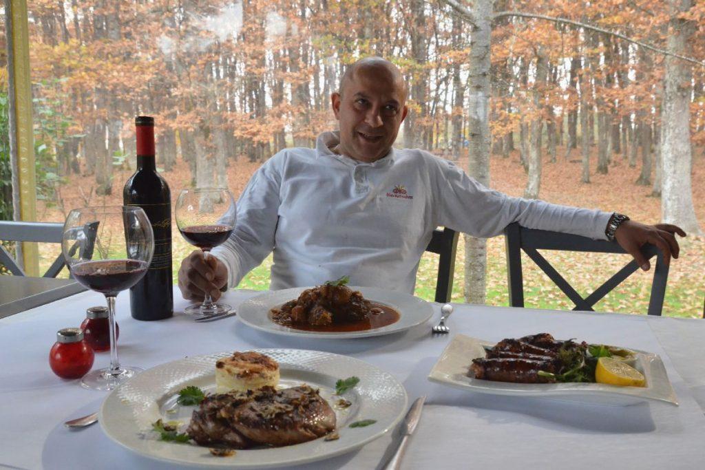 Ταβέρνα Μπακατσιάνος στην Αρναία - Χαλκιδική - Greek Gastronomy Guide