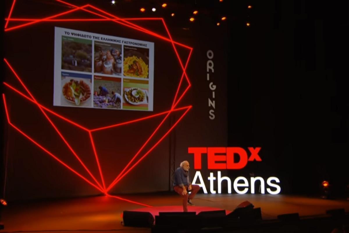 Πίττας στο TEDx Athens