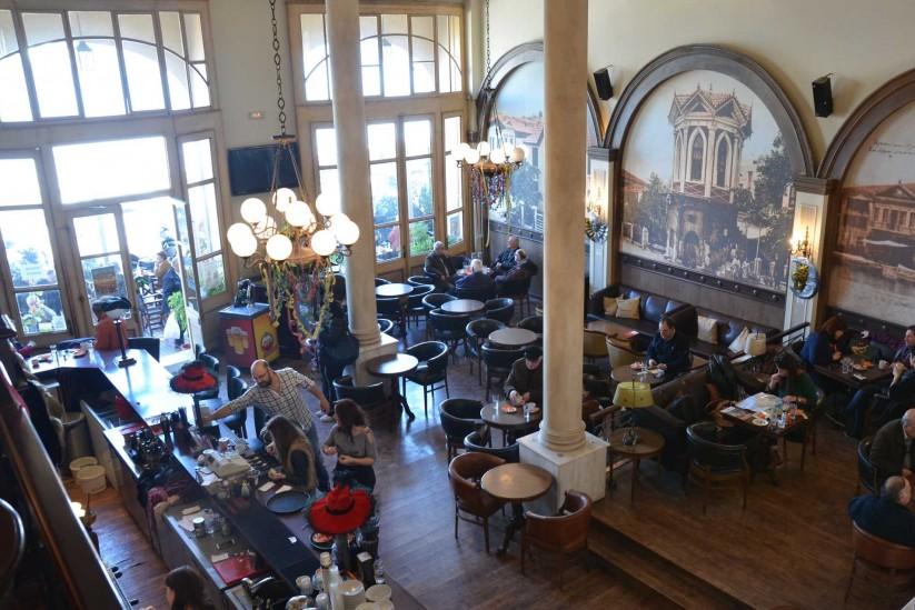 καφενείο Πανελλήνιον Μυτιλήνη Λέσβος