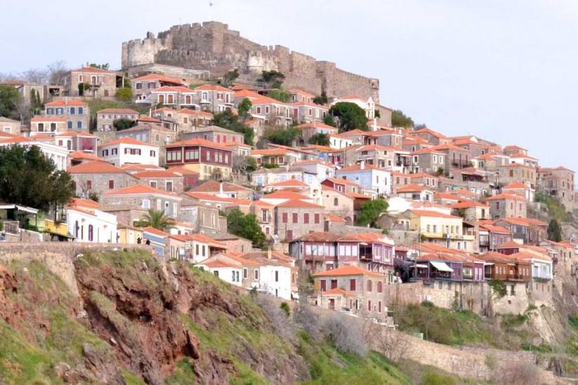 κάστρο, Μήθυμνα (Μόλυβος), Λέσβος