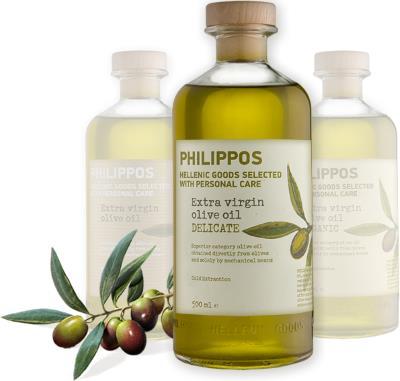 Philippos Hellenic Goods εξαιρετικό παρθένο ελαιόλαδο