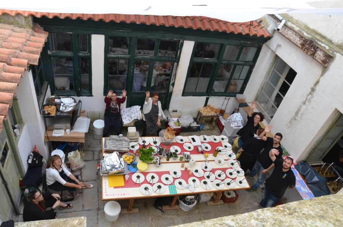 Tinos Food Paths 2016