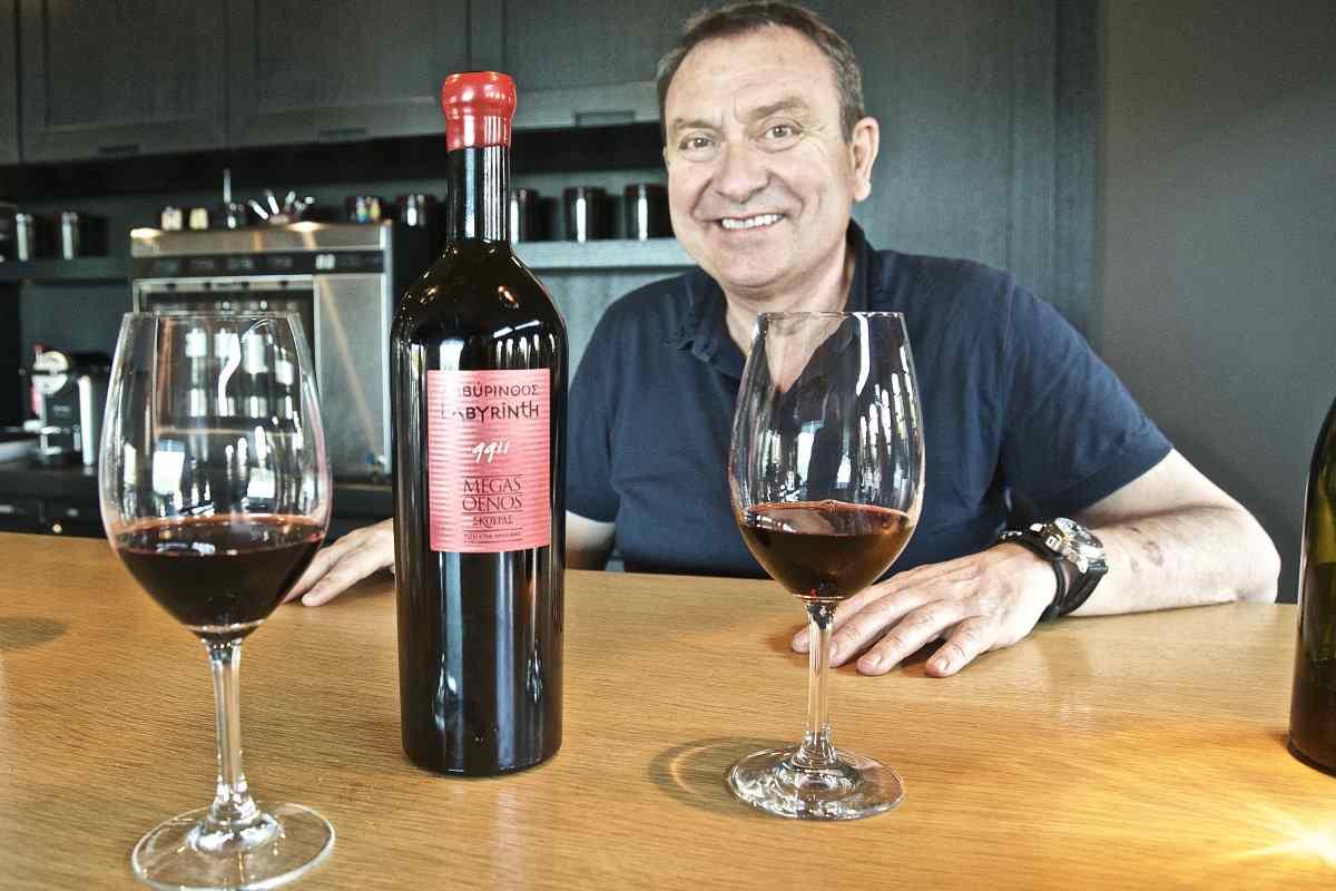 Λαβύρινθος 9911, ένα μεγαλειώδες κρασί από τον Γιώργο Σκούρα