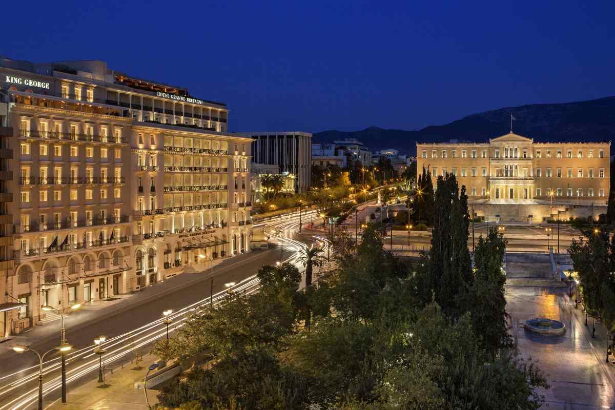 GB Roof Garden Restaurant - Athens - Greek Gastronomy Guide