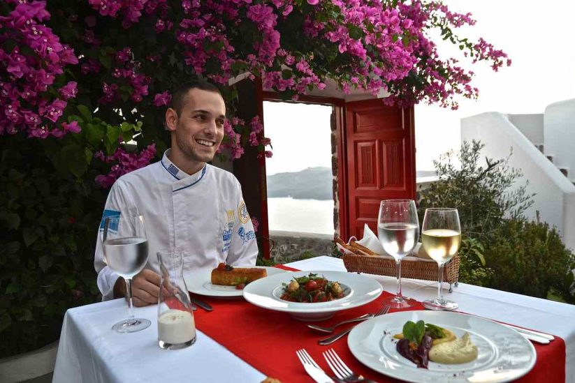 Aigialos Niche Residences & Suites Σαντορίνη - Greek Gastronomy Guide