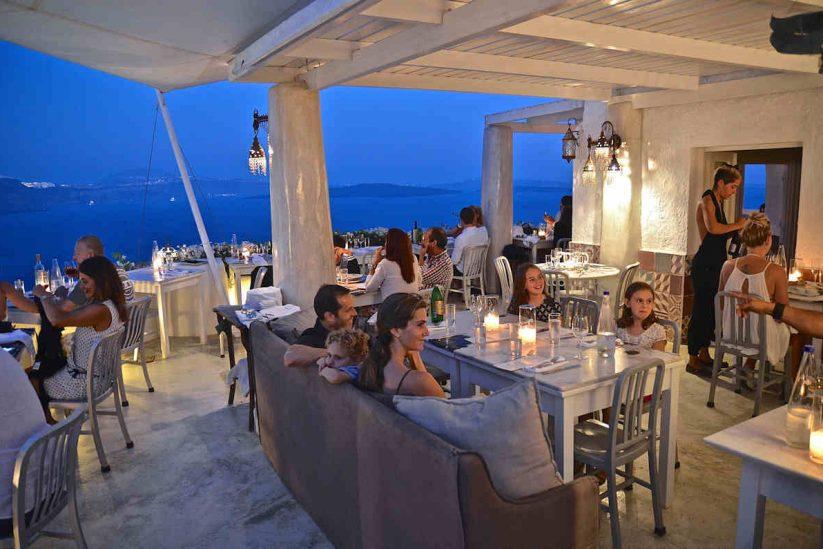 Εστιατόριο Κόκκινο Ποδήλατο - Σαντορίνη - Greek Gastronomy Guide