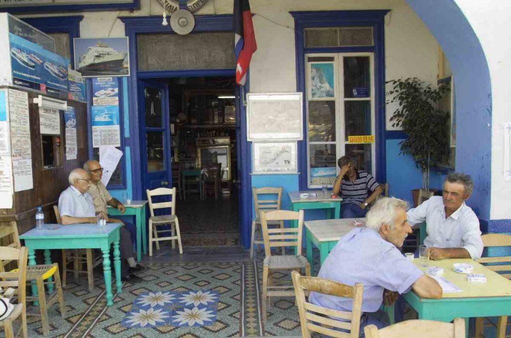 Καφεζυθεστιατόριο Ναυτιλία του Πρέκα - Κατάπολα, Αμοργός