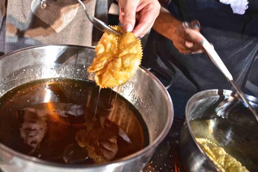 Ξεροτήγανα Αμοργού - Αμοργιανό γλύκισμα - Greek Gastronomy Guide