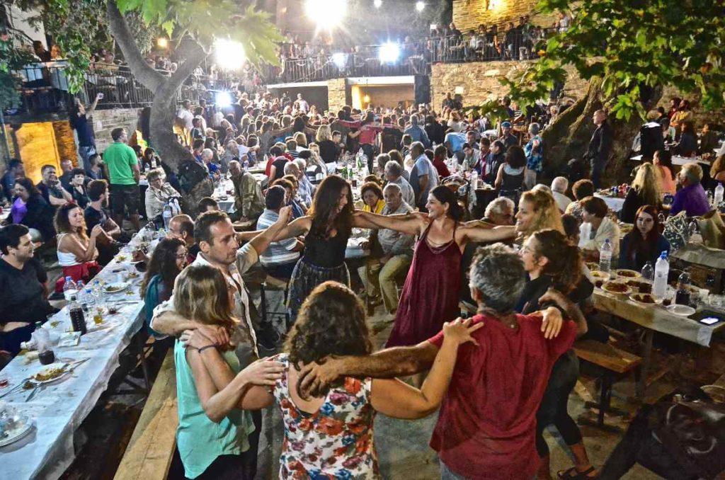 14η Μουσική Συνάντηση Λαϊκών Πνευστών Αιγαίου στην Ικαρία - Greek Gastronomy Guide