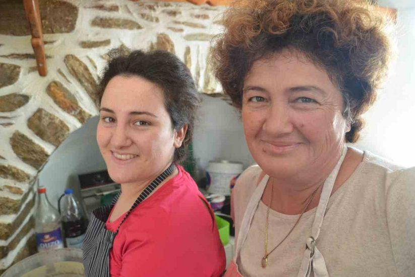 Ομελέτα με καβουρμά αμοργιανό - Αμοργός - Greek Gastronomy Guide