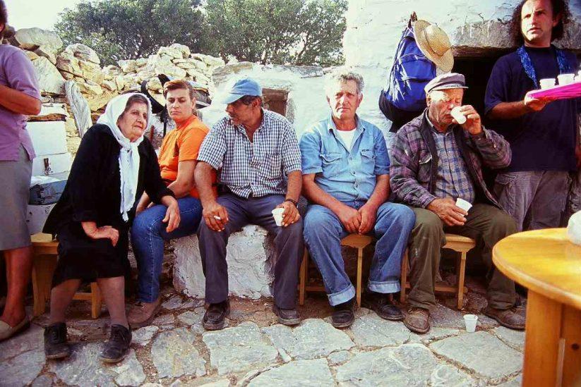 Πανηγύρι του Σταυρού στο Κρίκελλο - Αμοργός - Greek Gastronomy Guide