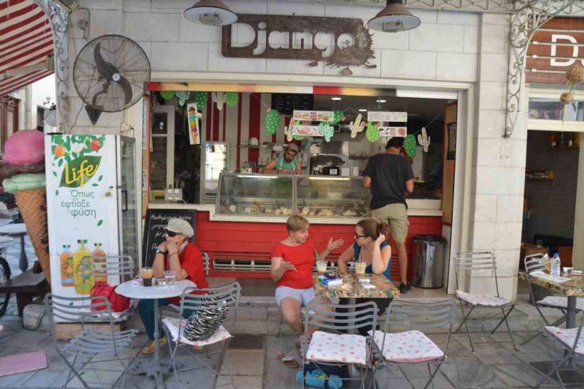 DJANGO Αγορά Ερμούπολης - Σύρος - Greek Gastronomy Guide