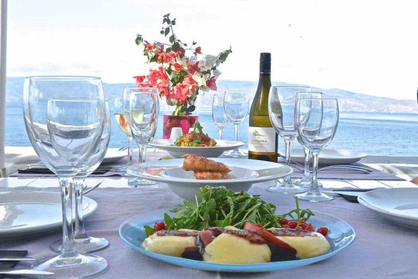 Εστιατόριο Sunset - Ύδρα - Greek Gastronomy Guide