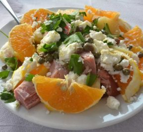Μεσσηνιακή σαλάτα - Σαλάτα Μεσσηνίας - Greek Gastronomy Guide