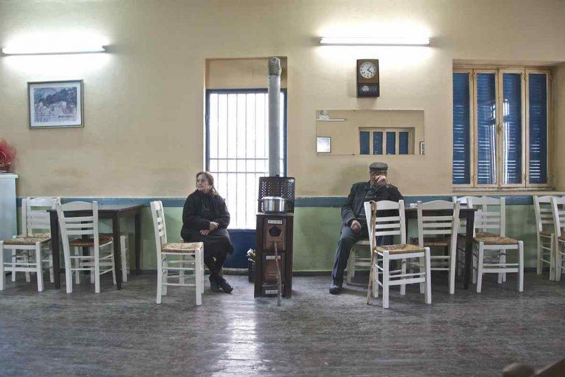 Το καφενείο στη Μάδενα - Μεσσηνία - Greek Gastronomy Guide