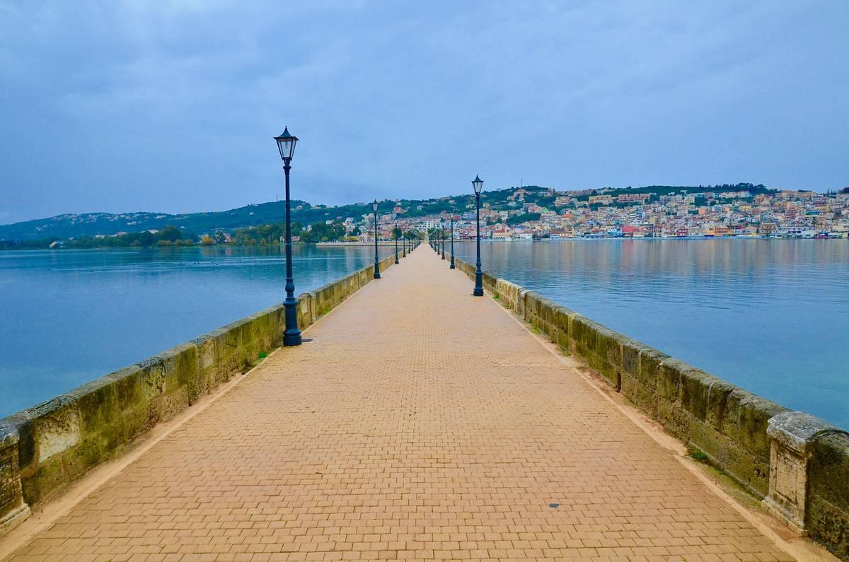 Η μεγαλύτερη λίθινη γέφυρα της Ευρώπης στο Αργοστόλι