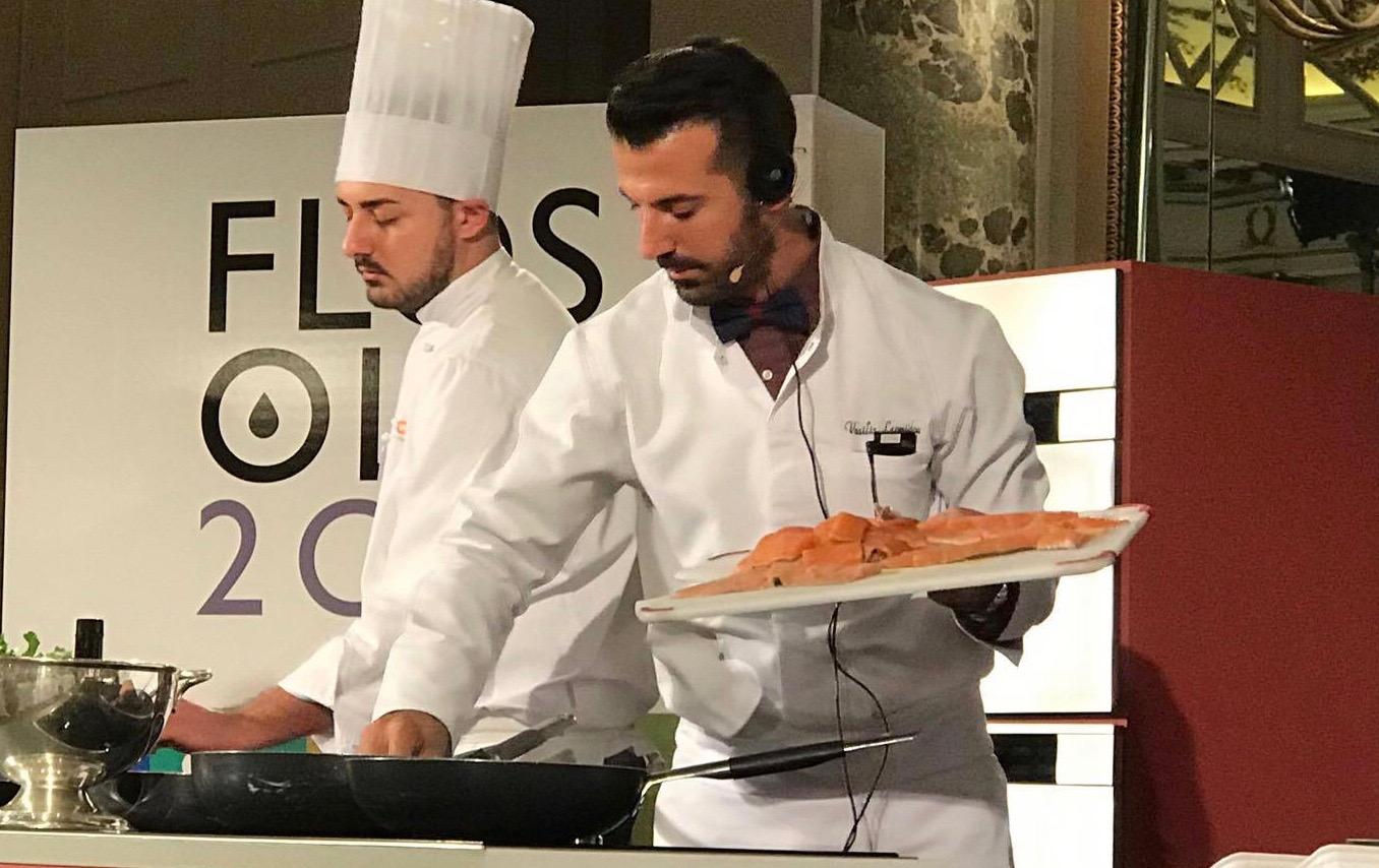 Βασίλης Λεωνίδου - ο βραβευμένος σεφ του ελαιόλαδου - Greek Gastronomy Guide