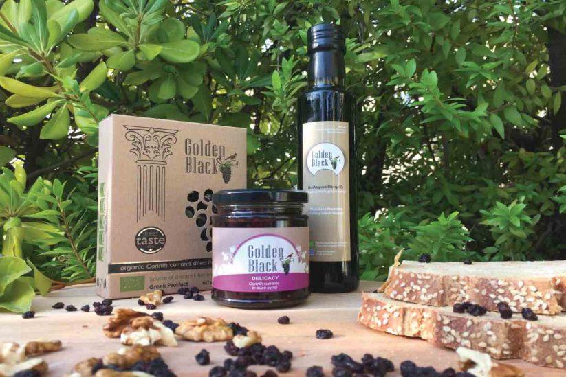 Golden Black - Βιολογική Κορινθιακή σταφίδα - Greek Gastronomy Guide