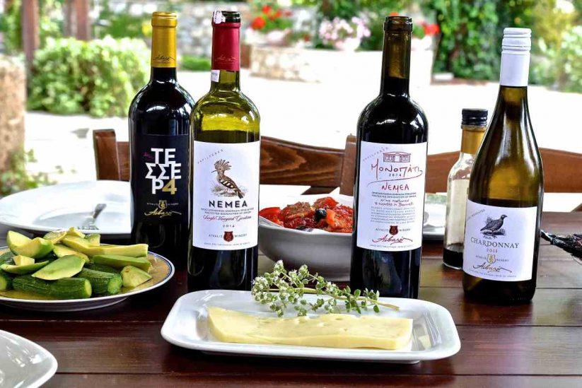 Οινοποιία Αϊβαλή - Πετρί Νεμέας - Greek Gastronomy Guide