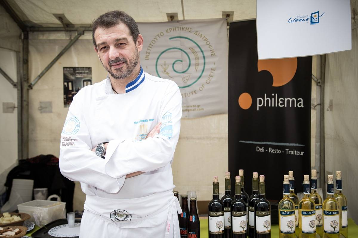 Mάνος Μακρυγιαννάκης - ο πρέσβης μας στις Βρυξέλλες - Greek Gastronomy Guide