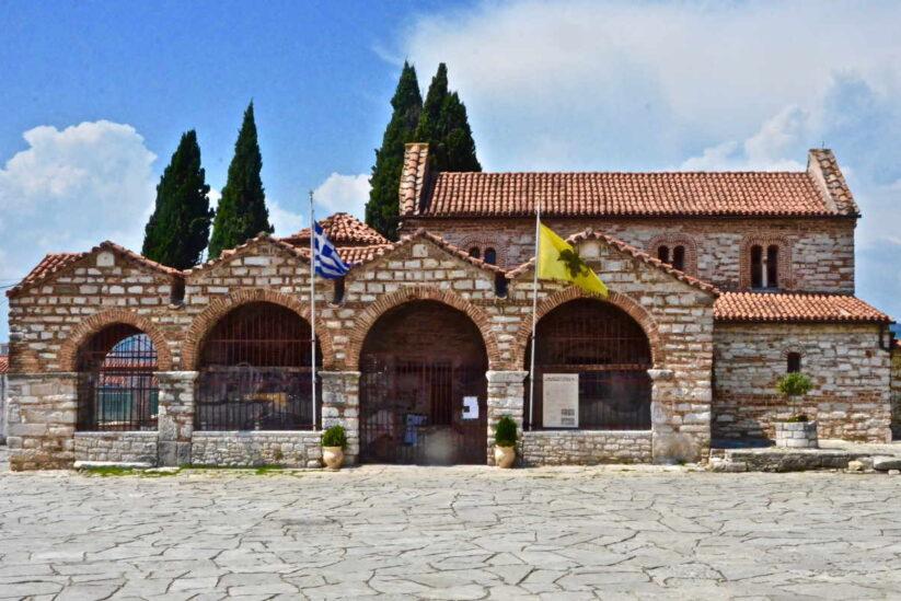 Αγία Θεοδώρα - Βυζαντινές εκκλησίες της Άρτας - Greek Gastronomy Guide