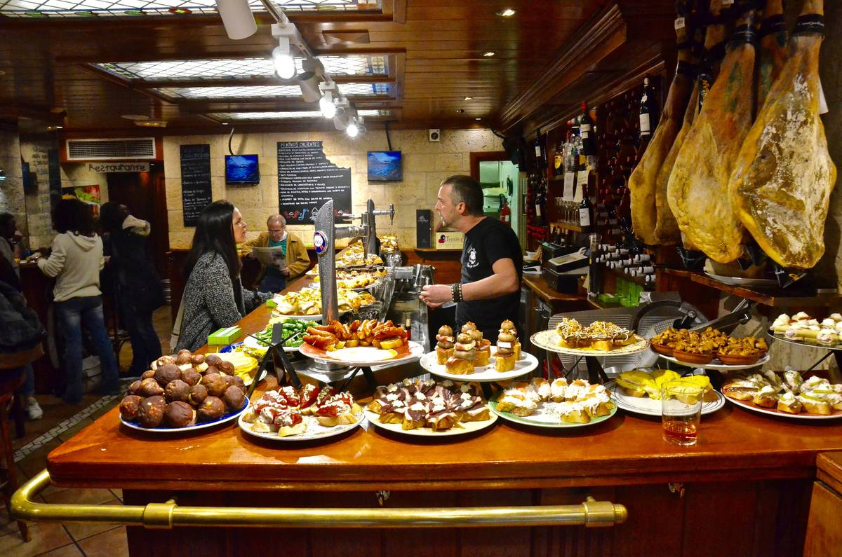 Oι μεζέδες - tapas ή pintxos - του Σαν Σεμπαστιάν - Greek Gastronomy Guide