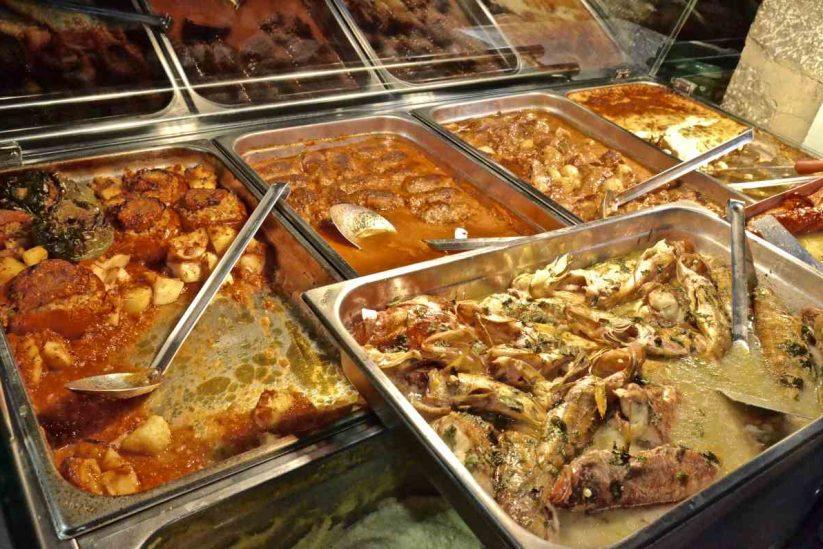 Ταβέρνα Ξερή Ελιά - Ντούσκος - Ύδρα - Greek Gastronomy Guide