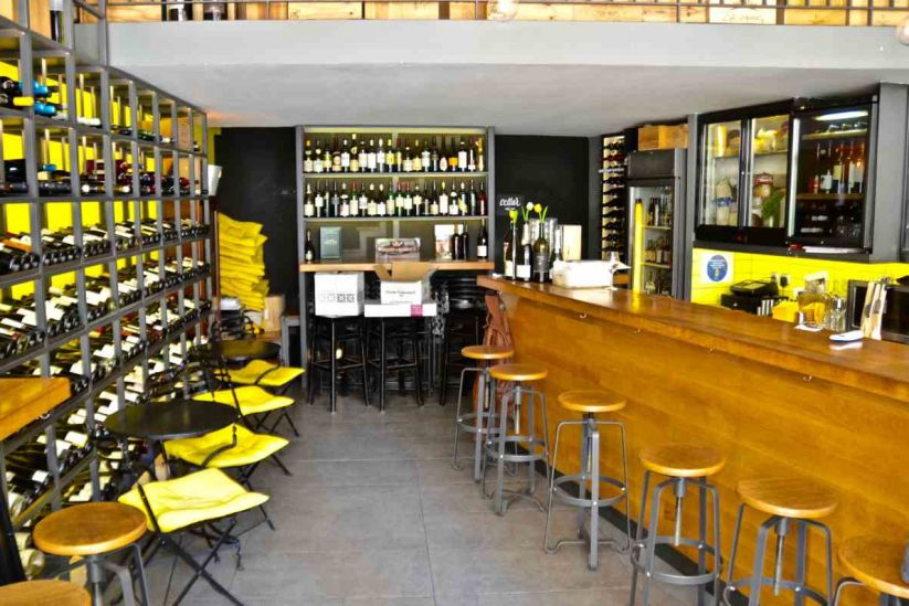 Wine bar Oinoscent - Αθήνα - Greek Gastronomy Guide