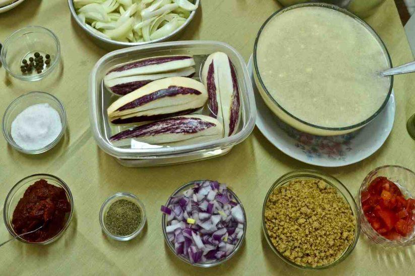 Μελιτζάνες με τραχανά - Ερμιονίδα - Greek Gastronomy Guide