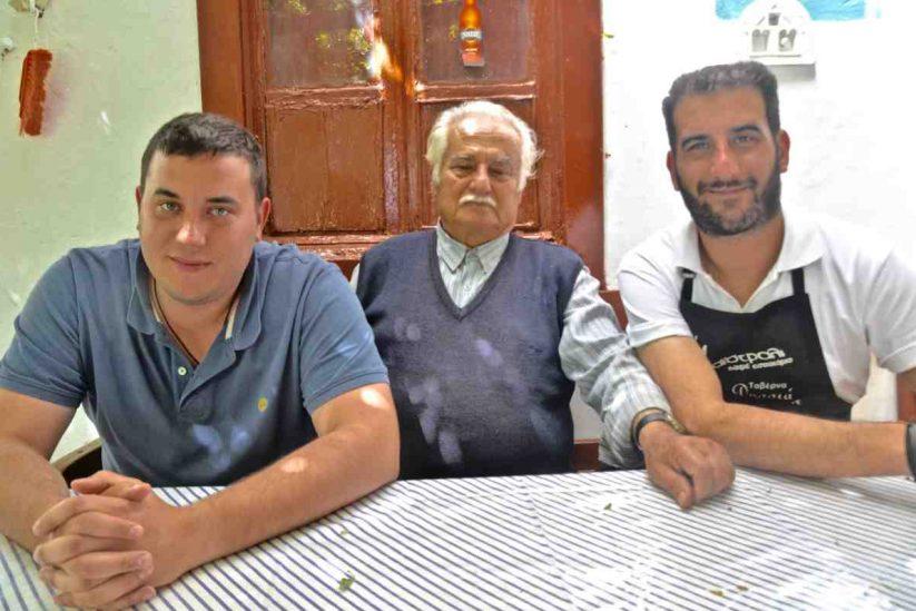 Ταβέρνα Δροσιά - Κτικάδος, Τήνος - Greek Gastronomy Guide